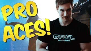 ACES LIKE A PRO! CS GO Stream Montage #31