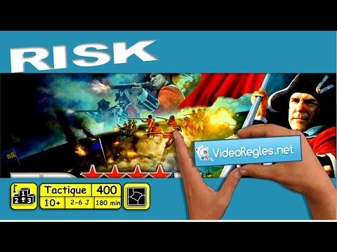 """La vidéorègle du jeu de société """"Risk"""" par Yahndrev (#400)"""