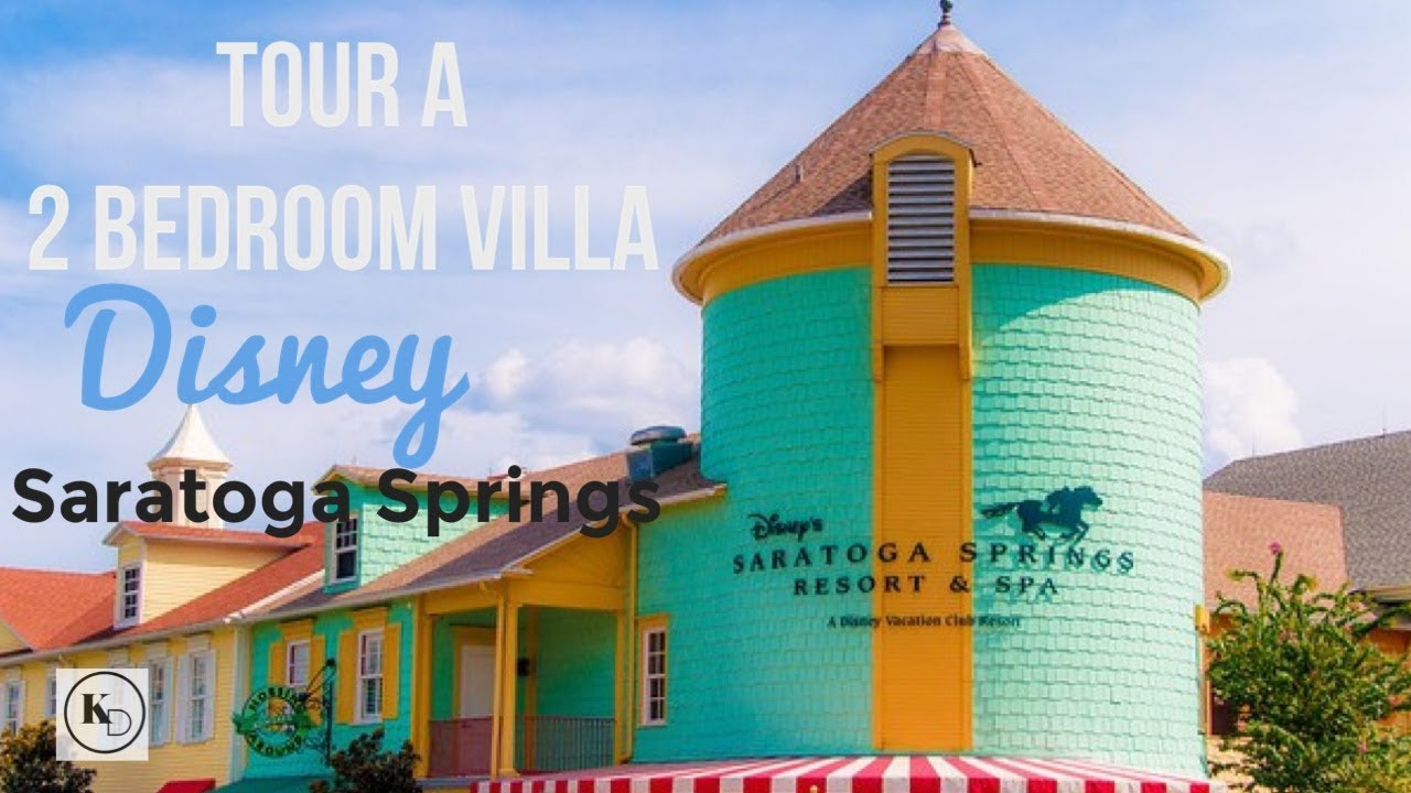 2 bedroom villa tour at saratoga springs resort at disney - 2 bedroom villas near disney world ...