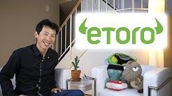 Trading Cryptos with eToro
