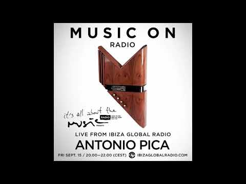 Antonio Pica - It's All About The Music @ Ibiza Global Radio 15-09-17