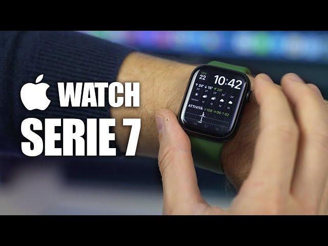  APPLE WATCH SERIE 7 HA SENSO? - Recensione