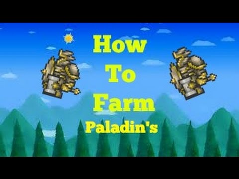Terraria 1.2 | how to farm paladins! Or the whole dungeon! |