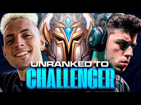 *NUEVA SERIE* Unranked to CHALLENGER con COSCU! | Werlyb