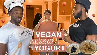 How to Make Vegan Peach Yogurt...And (Not) Grow Boobs