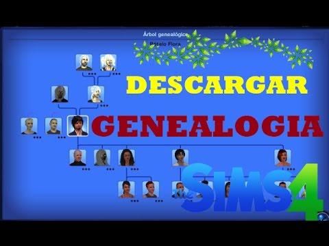 Descargar Genealogía LOS SIMS 4 (Árbol Genealógico)