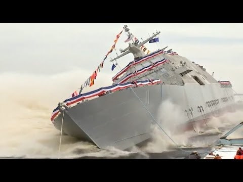 Navy launches new warship