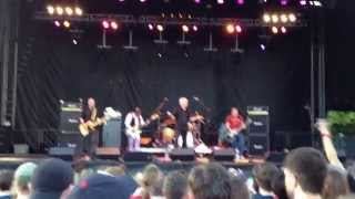 Guided By Voices. Rock The Garden. Minneapolis, Minneosta. June 22, 2014