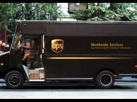 UPS Ground Service - Just Throwing Things On The Ground