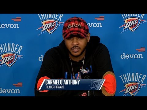 OKC Thunder Postgame Interview / Thunder vs Knicks / Oct 19