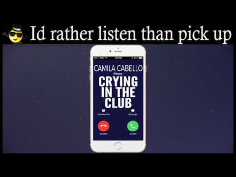Crying In The Club Ringtone - Camila Cabello