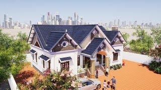 Mẫu Nhà Cấp 4 Đẹp 4 Phòng Ngủ 150m2 Tại Vĩnh Tường Vĩnh Phúc