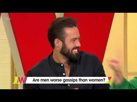 John Barrowman States the Difference Between Gossip and a Comment  Loose Women