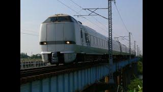鉄道車窓 北陸線特急683系サンダーバード20号金沢~大阪 右側車窓