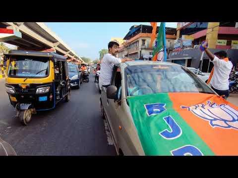 BJP Winning Moments in Mangalore