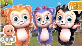 three little kittens lost their mittens | Babaies Songs | Jugnu Kids Nursery Rhymes & Kids Songs