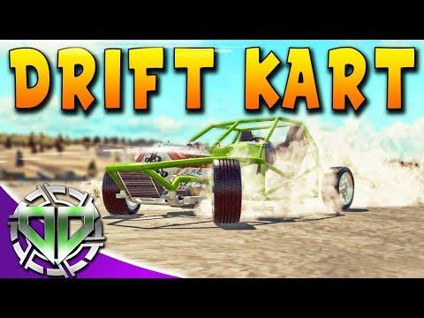 Drift Kart & Steam Workshop : Car Mechanic Simulator 2018 : PC Lets Play