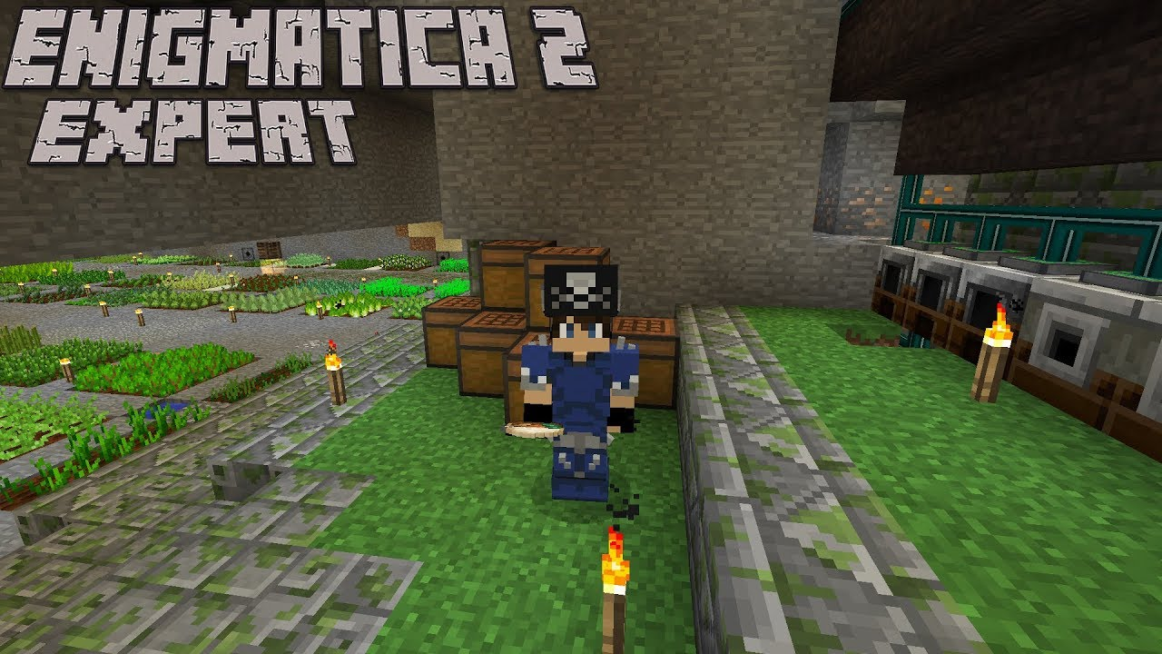 Automating Deluxe Chicken Curry Pt 2 : Enigmatica 2 Expert Lp Ep #12  Minecraft 1 12