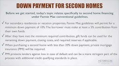 What is the Minimum Down Payment Needed to Purchase a Second Home?