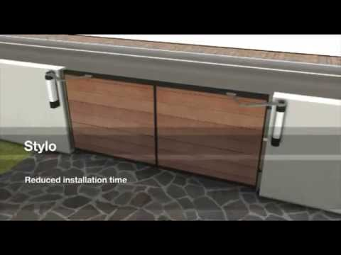 motorisation portail battant came stylo youtube. Black Bedroom Furniture Sets. Home Design Ideas