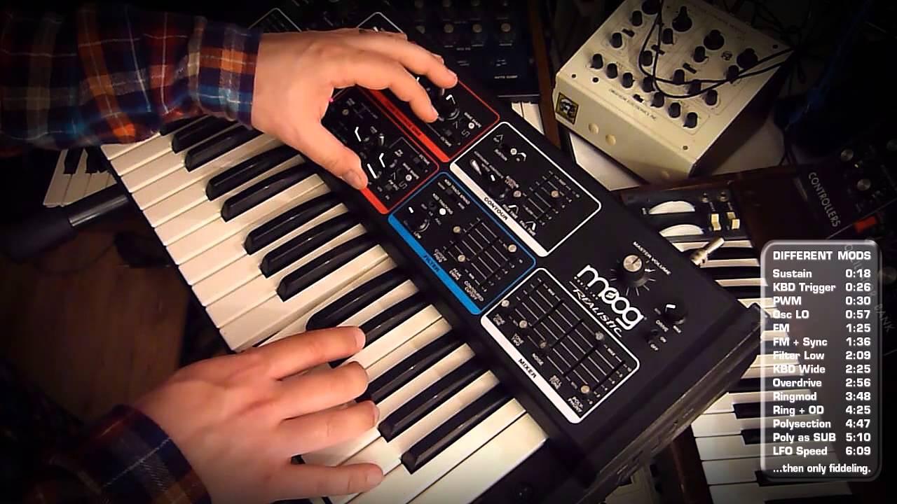 Moog Realistic MG-1 Mods | Synthtopia