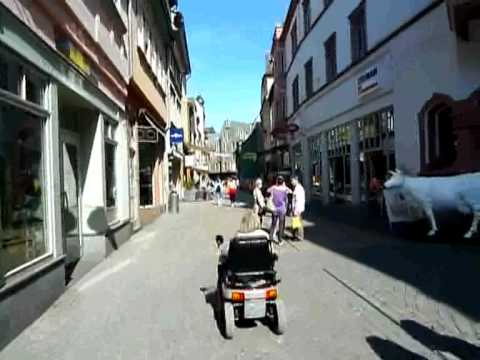 Bike and Train trip to Eisenach Wartburg Castle and Weimar, Germany