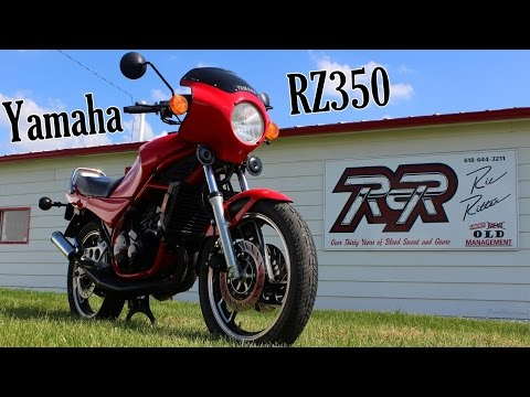 Vintage Yamaha RZ350 Two-Stroke Motorcycle