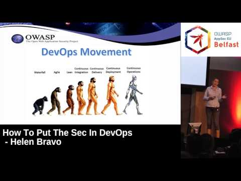 AppSec EU 2017 How To Put The Sec In DevOps by Helen Bravo