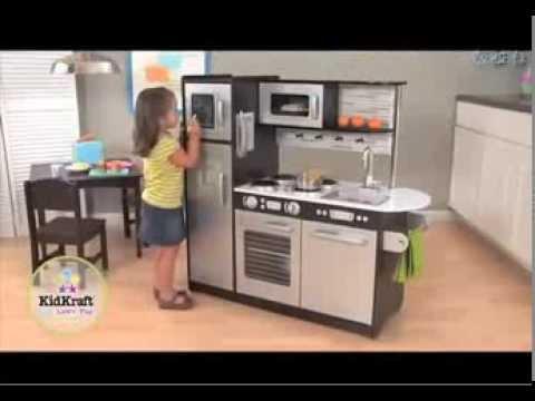 Houten Speelgoed Keuken : Houten speelgoed keukentje uptown espresso kidkraft