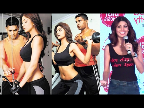 Shilpa Shetty Gives Fitness Tips