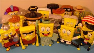 2005 SPONGEBOB SQUAREPANTS LOST IN TIME SET OF 20 BURGER KING KID