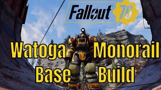 Fallout 76 Base Building #2 Watoga Monorail