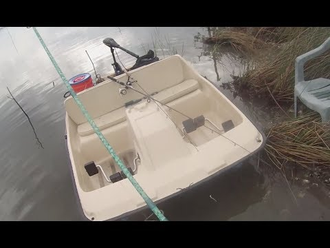 Saltwater Fishing on a Paddle Boat?! Hooking a GIANT!