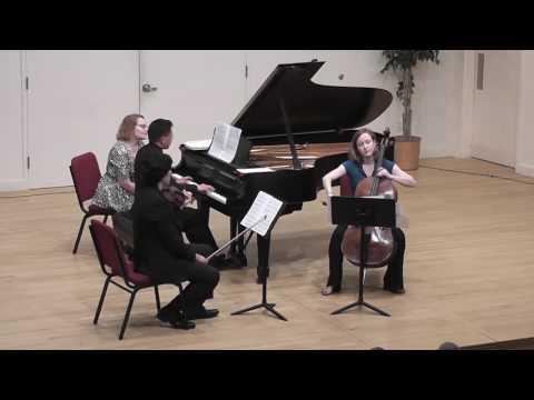 "Piano Trio no. 3, ""Century Music"" by Eugenie Rocherolle"