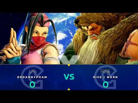 SFV: Capcom Cup 2017 LCQ Part 1 - CPT 2017