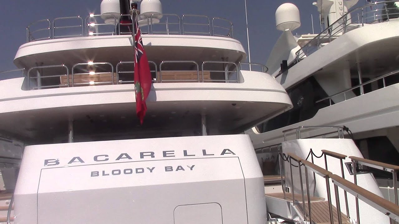 Superyacht August 2015 Bacarella Boody Bay In Cannes Megayacht Youtube