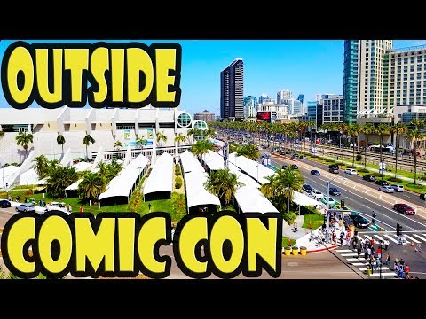 San Diego Comic-Con 2017 Things to do Outside