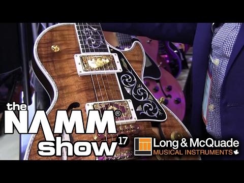 L&M @ NAMM 2017: Gibson Custom Guitars