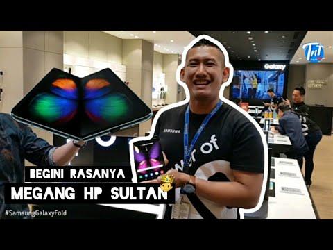 AKHIRNYA BISA REVIEW HP SULTAN, SAMSUNG GALAXY FOLD