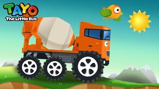tayo repair game 03 chris the truck mixer