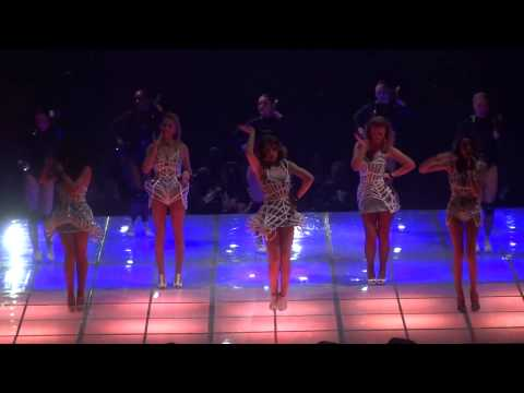 Girls Aloud On The Metro Live In Nottingham On The Ten Tour
