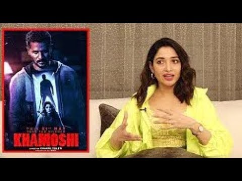 EXLUSIVE INTERVIEW WITH TAMANNAAH BHATIA FOR HER FILM KHAMOSHI