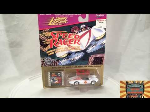 Speed Racer Mach 5 by Johnny Lightning I Tikifire Toy Reviews