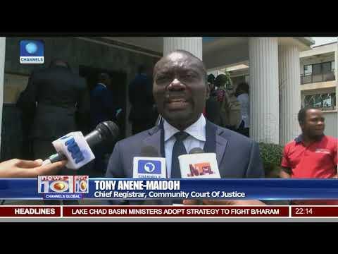 ECOWAS Court Holds Handover Ceremony In Abuja