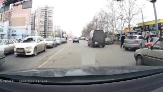Небольшие дтп в Одессе(1. Первое дтп на пр. М. Жукова возле авторынка