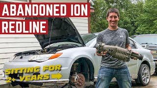 RESCUING An ABANDONED Saturn ION REDLINE Project *Can We Start It?*