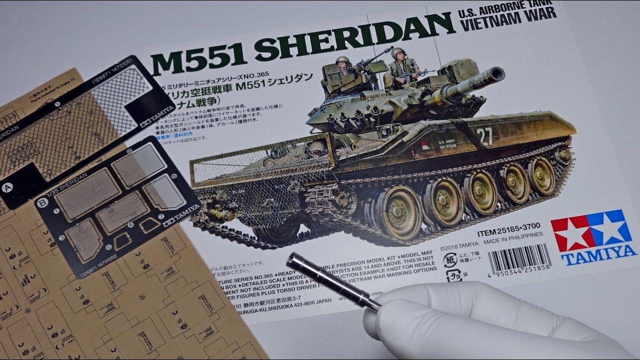 Tamiya 1:35 US M551 Sheridan Vietnam