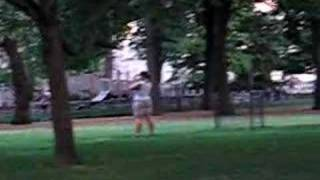 Nuns Playing Stickball