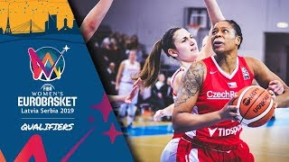 Switzerland v Czech Republic - Full Game - FIBA Women's EuroBasket 2019 - Qualifiers 2019