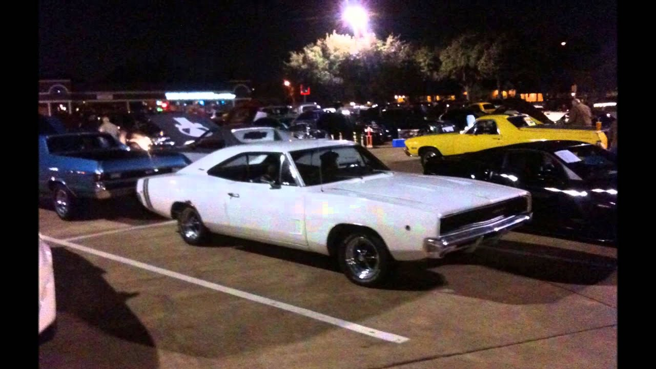 Monthly Muscle Car Show In Plano TX YouTube - Plano car show